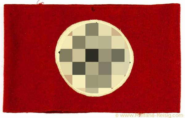 NSDAP Armbinde aus Filz