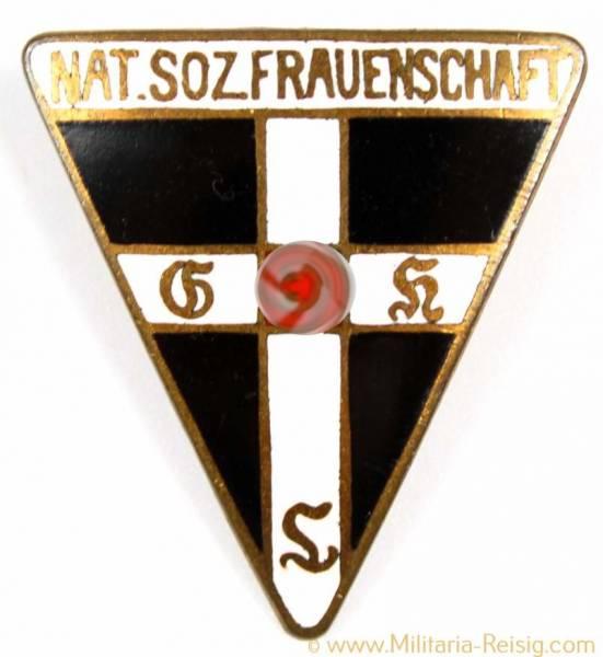 Mitgliedsabzeichen Nationalsozialistische Frauenschaft, Herst. RZM M1/46 - 27mm, 5. Form