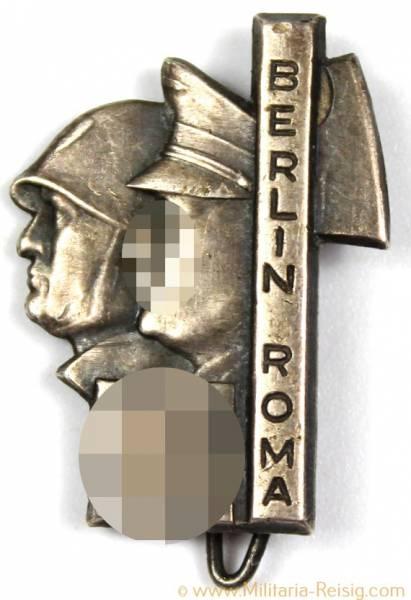 """Anstecker """"Berlin Roma"""", Herst. Deschler & Sohn München"""
