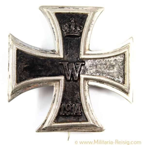 Eisernes Kreuz 1. Klasse 1914, Herst. Paul Maybauer, Berlin, 900er Silber