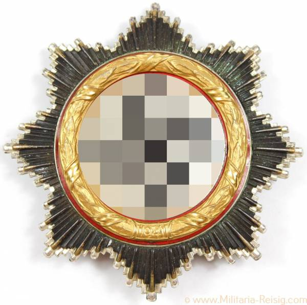 Deutsches Kreuz in Gold, Herst. 134 (Klein, Hanau)
