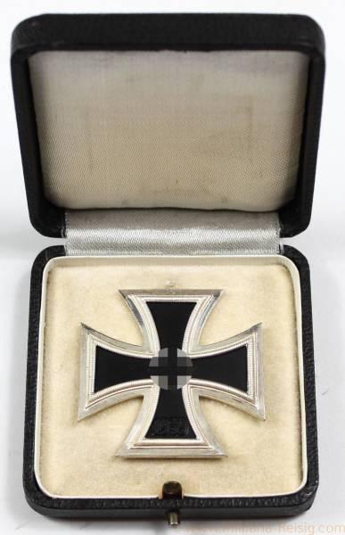 Eisernes Kreuz 1. Klasse 1939, Herst. 100 (Rudolf Wächtler & Lange, Mittweida), Traumzustand!
