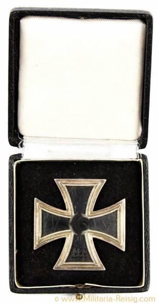 Eisernes Kreuz 1. Klasse 1939 im Etui - Herst. 98, Rudolf Souval, Wien