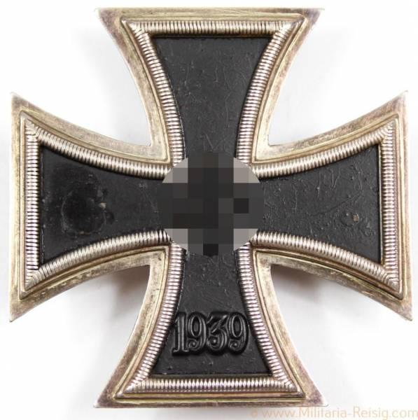 Eisernes Kreuz 1. Klasse 1939, Herst. 20 (C.F. Zimmermann, Pforzheim)