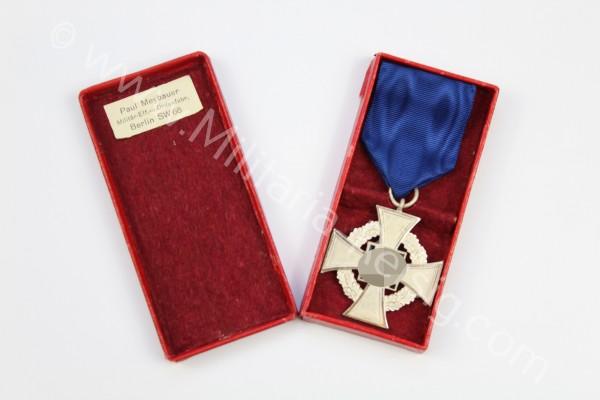 Treuedienst-Ehrenzeichen 2.Stufe für 25 Jahre 1938, Herst. Paul Maybauer, Berlin