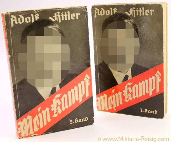 """2-bändige Taschenbuchausgabe """"Mein Kampf"""" 1933"""