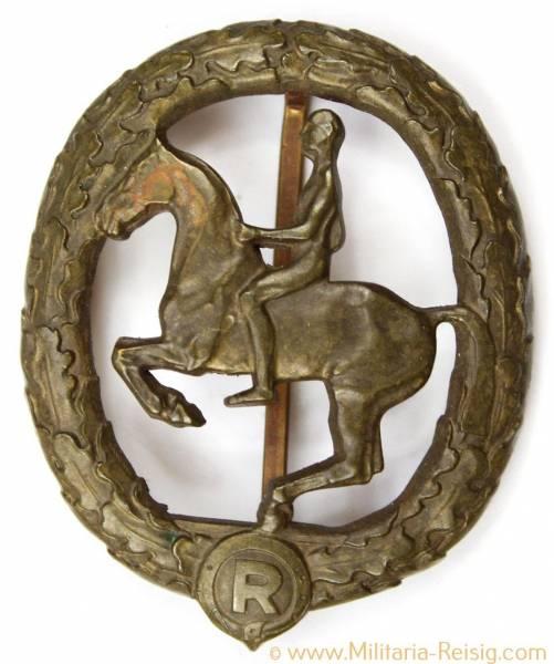 Deutsches Reiterabzeichen 3. Klasse Bronze 1930