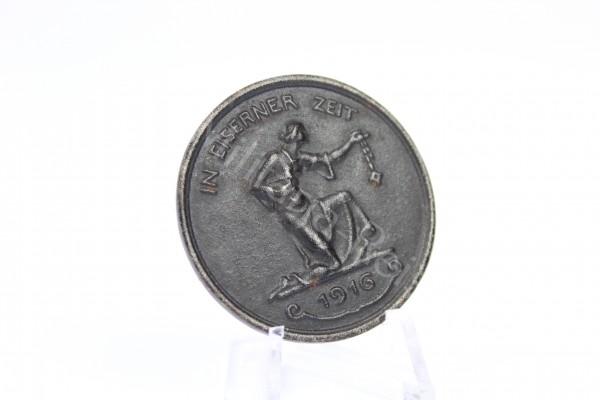Medaille - IN EISERNER ZEIT 1916