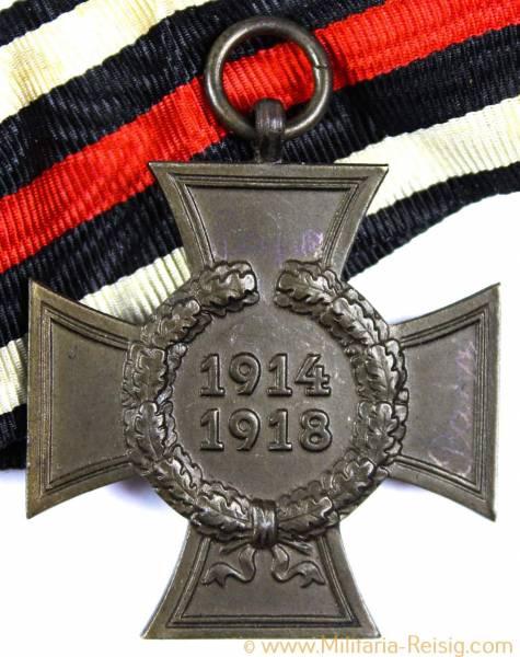 Ehrenkreuz des 1.Weltkrieges Kriegsteilnehmerkreuz, Herst. G 8