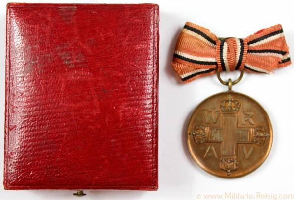 Rote Kreuz Medaille 3.Klasse 1898 im Etui - Für Verdienste um das Rothe Kreuz