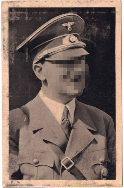 Postkarte, Adolf Hitler