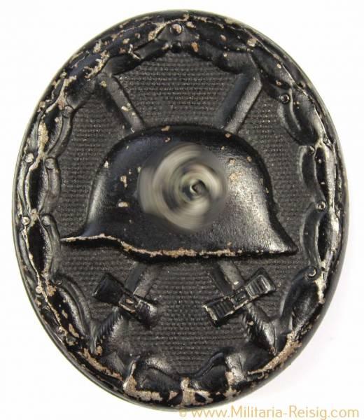 Verwundetenabzeichen für das Heer 1939 in Schwarz 2. Form