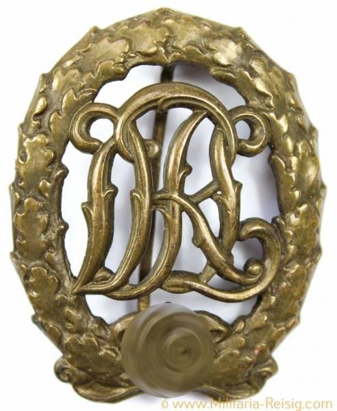 Reichssportabzeichen DRL in Bronze - Herst. H. Wernstein Jena-Löbstedt