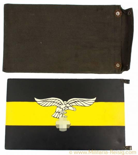 KFZ-Autostander für Geschwaderkommodore eines Fallschirmjägerregiment, sehr selten!