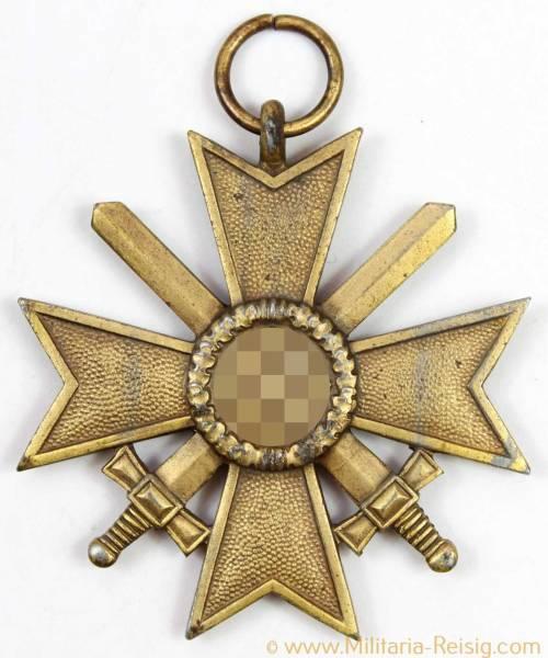 Kriegsverdienstkreuz mit Schwertern 2.Klasse 1939, Herst. 100 (Rudolf Wächtler & Lange, Mittweida)