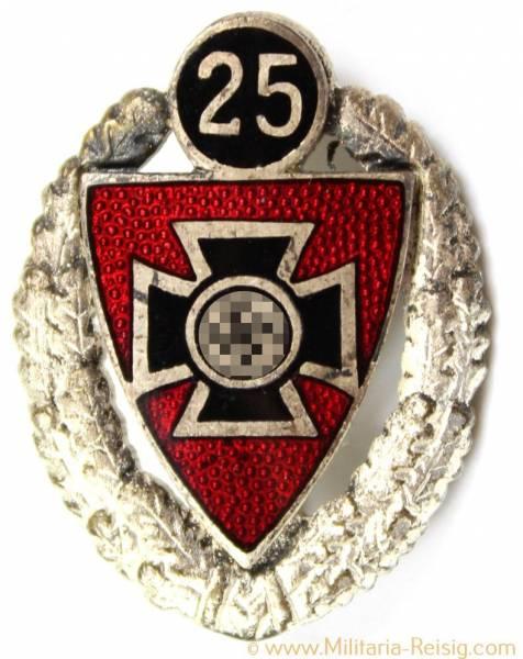 Reichskriegerbund, Silberne Ehrennadel für 25 Jahre
