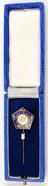 Mitgliedsnadel Deutscher Feldpostbund, Herst. W. Helbing Leipzig W.33