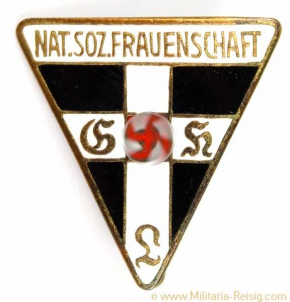 Mitgliedsabzeichen Nationalsozialistische Frauenschaft, Herst. RZM 92 - 22mm