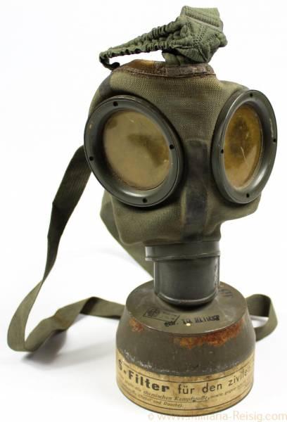 Gasmaske der Wehrmacht, GM-30, 1936