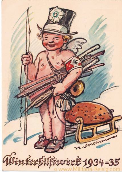 Postkarte, Winterhilfswerk 1934/35
