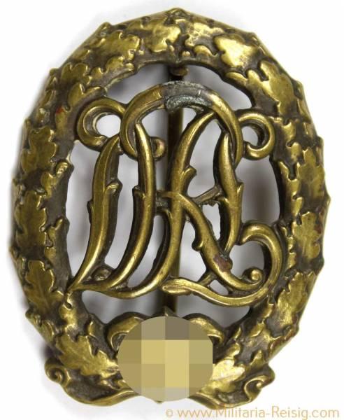 Reichssportabzeichen DRL in Bronze, Herst. H. Wernstein Jena-Löbstedt