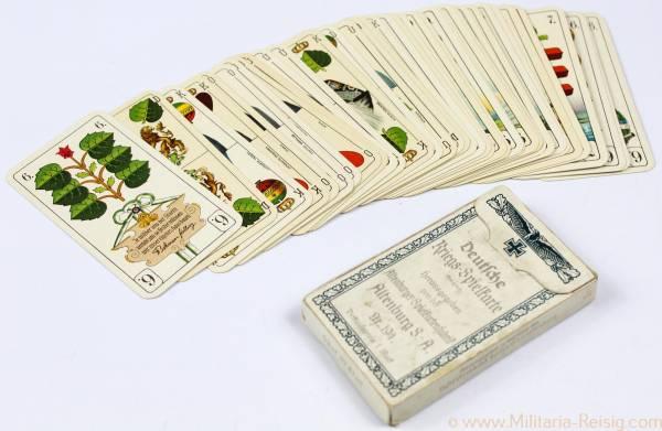 Deutsche Kriegs-Spielkarte, Altenburger Spielkartenfabrik