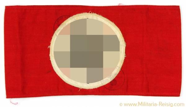 SA Armbinde mit 2 Stempel 3. Reich