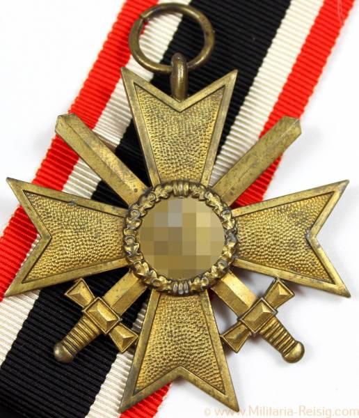 Kriegsverdienstkreuz 2. Klasse mit Schwerter, Herst. 110 (Otto Zappe, Gablonz)