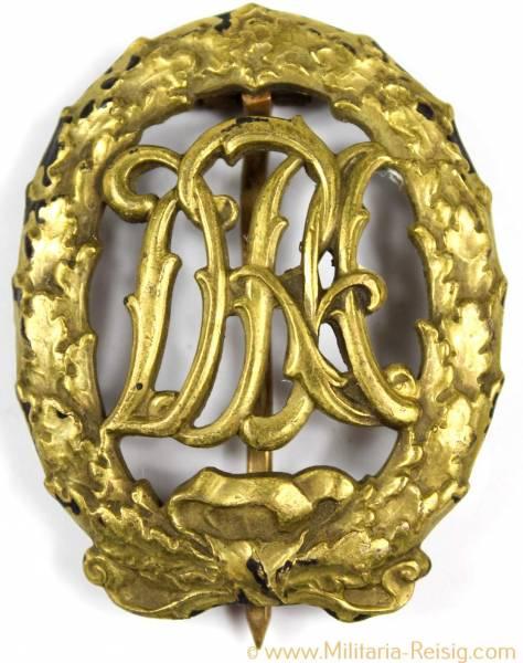 DRA Sportabzeichen in Bronze, Herst. H. Wernstein Jena-Löbstedt