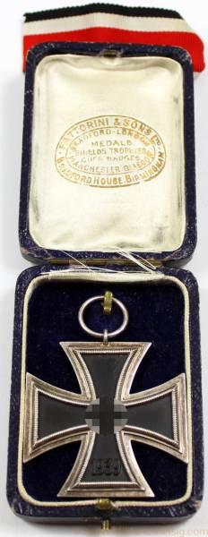 Eisernes Kreuz 2. Klasse im Etui
