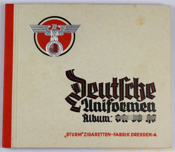 Deutsche Uniformen Album SA, SS, HJ, 3. Reich, selten!