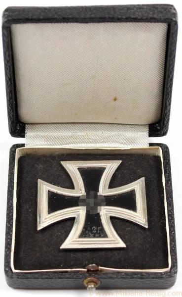 Eisernes Kreuz 1. Klasse 1939 im Etui, Herst. 15 (Friedrich Orth, Wien)
