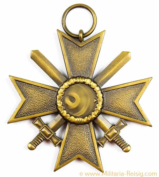 Kriegsverdienstkreuz mit Schwertern 2.Klasse 1939, Herst. 6 (Fritz Zimmermann Stuttgart)