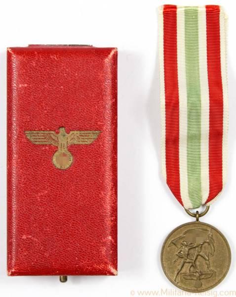 Memelland-Medaille, Medaille zur Erinnerung an die Heimkehr des Memellandes, selten!