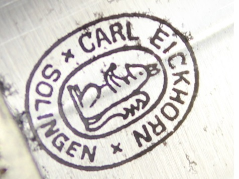 Carl Eickhorn, Solingen