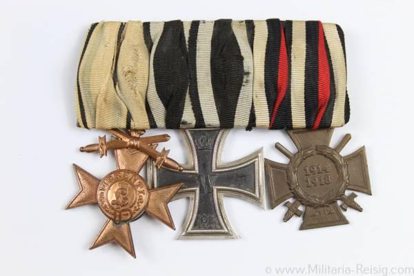 Ordenspange eines Soldaten, 1. Weltkrieg