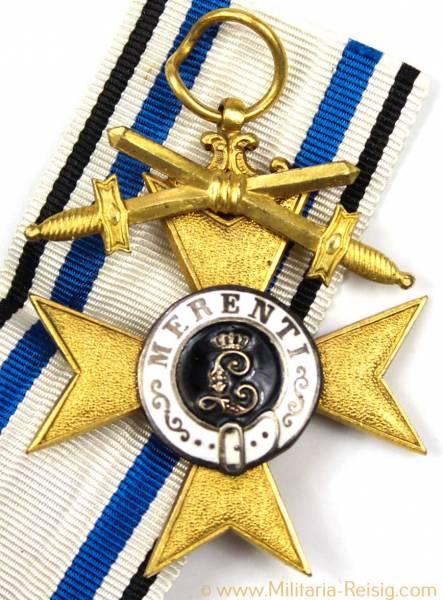 Militärverdienstkreuz 1.Klasse mit Schwertern, Bayern