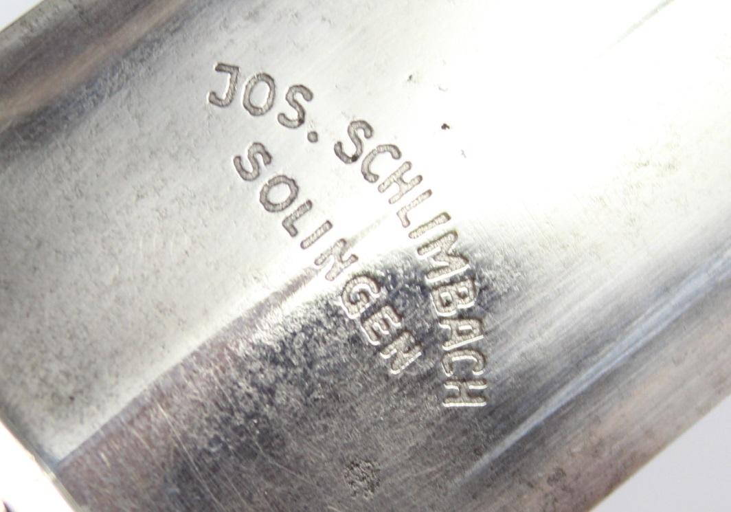 Josef Schlimbach, Solingen