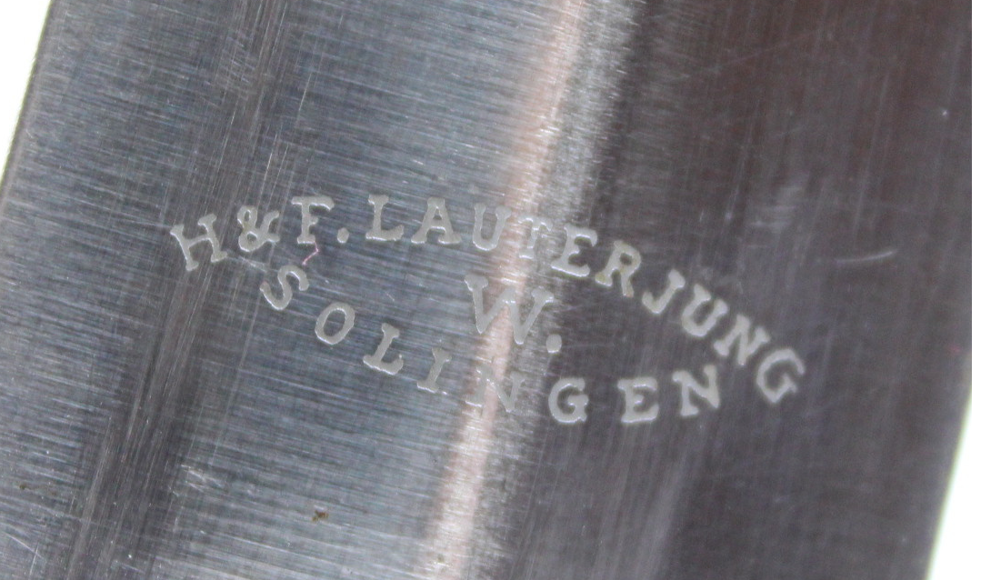 H. & F. Lauterjung, Solingen