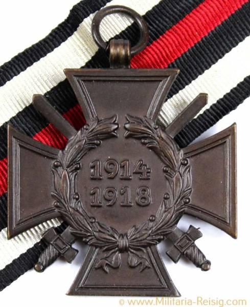 Ehrenkreuz des 1.Weltkrieges Frontkämpferkreuz, Herst. R.V. 24 Pforzheim