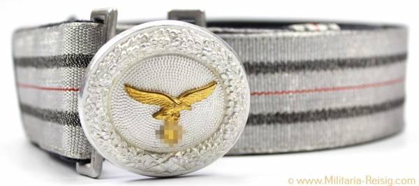 Paradefeldbinde für Offiziere der Luftwaffe, Herst. Assmann