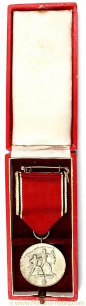 Medaille zur Erinnerung an den 13. März 1938 (Österreich-Medaille) im Etui