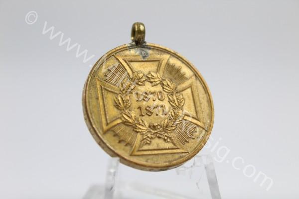 Kriegsdenkmünze für Kämpfer 1870/71