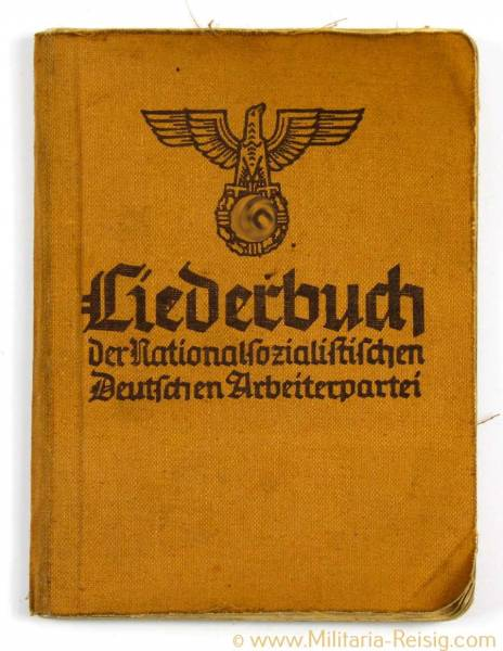 Liederbuch der Nationalsozialistischen Arbeiterpartei, 3. Reich