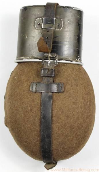 Feldflasche der Wehrmacht HWSD 40, WAL 37