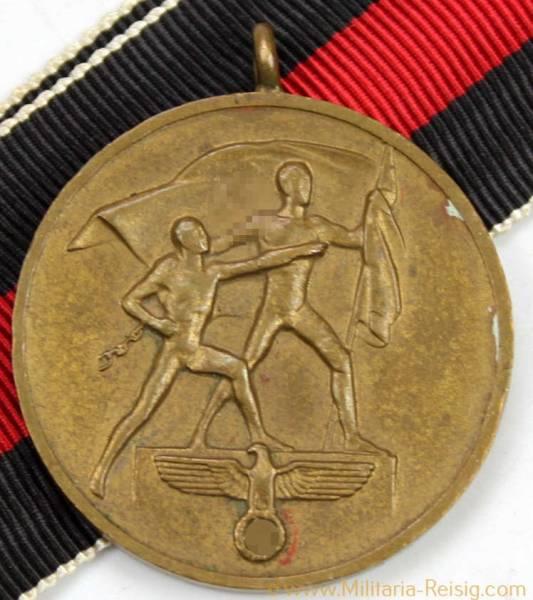 Sudetenland-Medaille 1.Oktober 1938