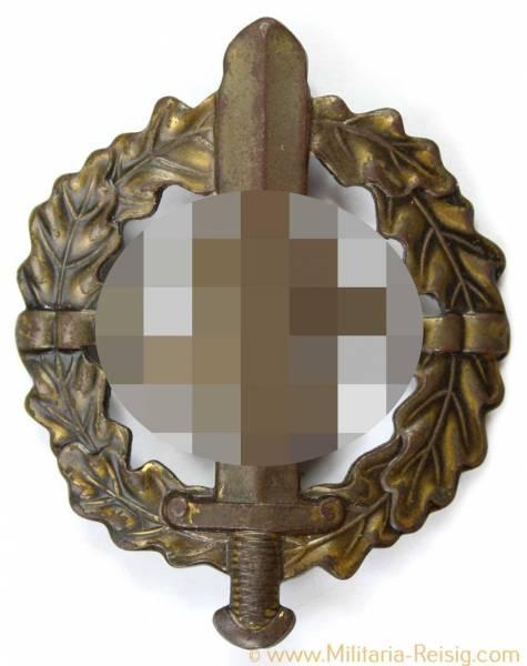 SA-Sportabzeichen in Bronze, Fechler, Bernsbach/SA.