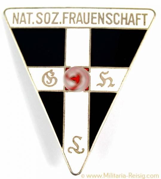 Mitgliedsabzeichen Nationalsozialistische Frauenschaft, Herst. RZM 72 - 44mm, 5. Form