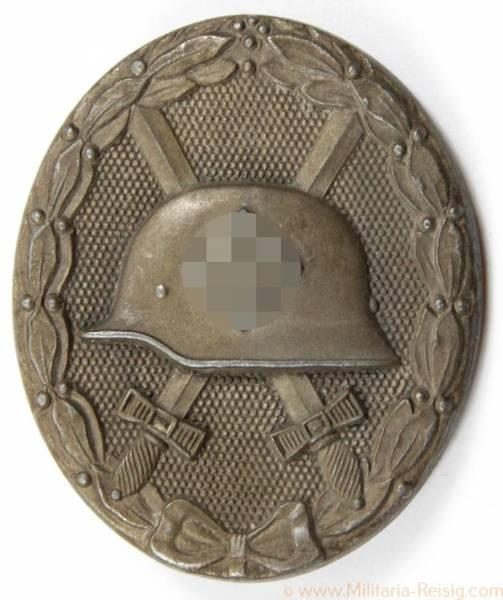 Verwundetenabzeichen 1939 Silber, Herst. 65 (Klein & Quenzer, Oberstein)