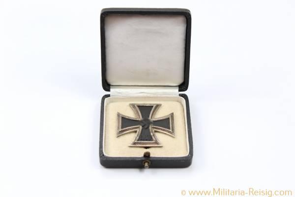 Eisernes Kreuz 1. Klasse 1939 im Etui - Herst. 65, Klein & Quenzer, Idar-Oberstein